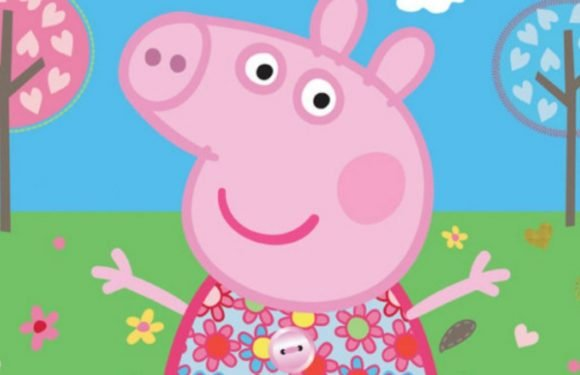 First it was The Simpsons, now front-facing Peppa Pig is terrifying us all