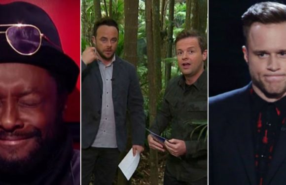 8 giant reality TV blunders and gaffes, including howlers from will.i.am, Ant & Dec and Olly Murs