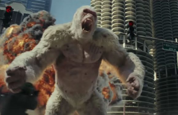 Dwayne Johnson's Rampage trumps A Quiet Place to take the weekend US box office