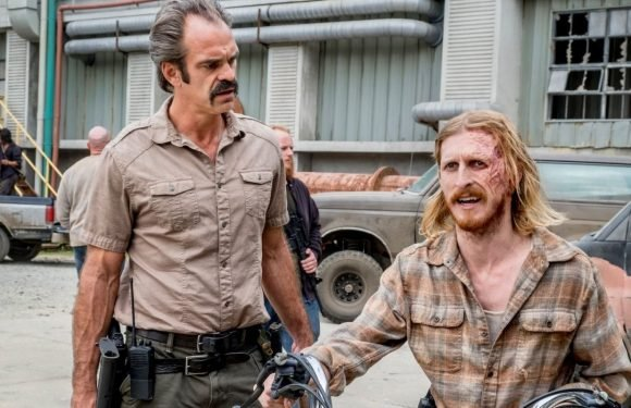 "The Walking Dead's Steven Ogg says there was ""never a master plan"" with Simon"