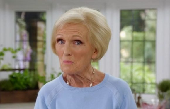 Mary Berry is back in her baking glory in the BBC's Britain's Best Home Cook