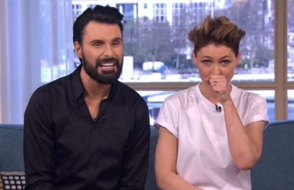 This Morning's Rylan Clark-Neal has Emma Willis in giggles after refusing to read out sexual innuendo