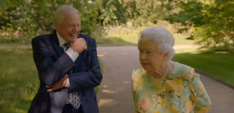 Sir David Attenborough and The Queen are now everyone's favourite presenting duo