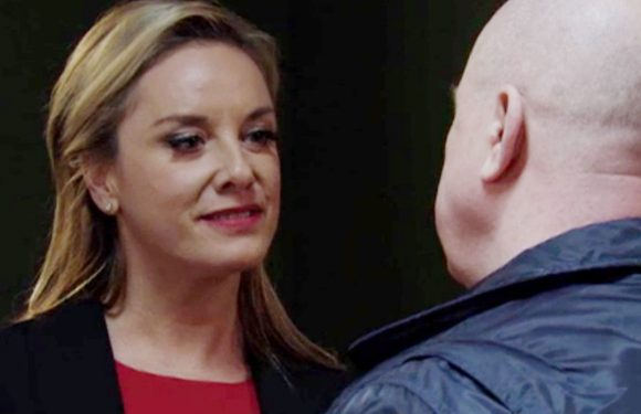 EastEnders seduction twist sees Mel Owen blackmail Phil Mitchell over Hunter
