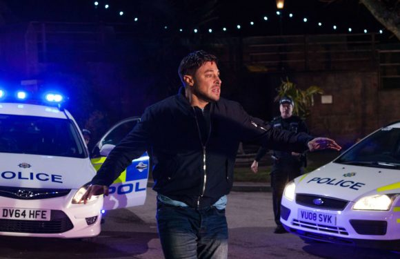 Hollyoaks killer Ryan Knight is FINALLY arrested for Amy Barnes's murder