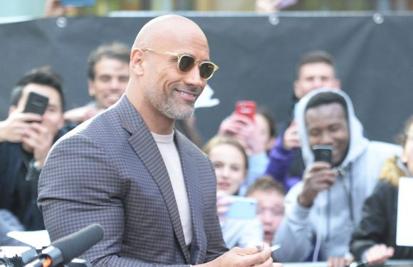 Dwayne Johnson says he's overwhelmed by support after opening up about his depression