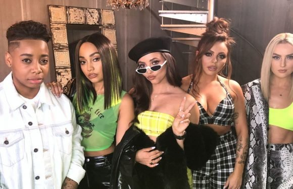 Watch Little Mix perform an entire concert in under a minute on Sounds Like Friday Night