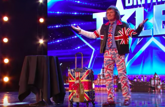 David J Watson returns to Britain's Got Talent for the NINTH year running