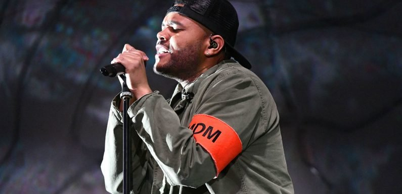 The Weeknd made everyone cry (including himself) at Coachella