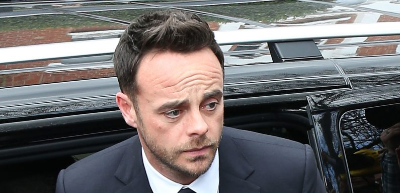 Ant McPartlin banned from driving and fined £86k after being double over the limit in car crash