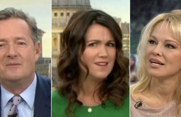 Piers Morgan and Pamela Anderson's sex talk on Good Morning Britain has fans in a meltdown of cringe