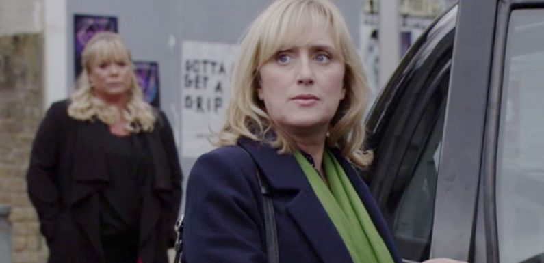 EastEnders airs Michelle Fowler's final scenes as Jenna Russell bows out