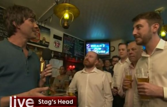 The One Show sends Professor Brian Cox into a pub on live telly to lecture punters about aliens