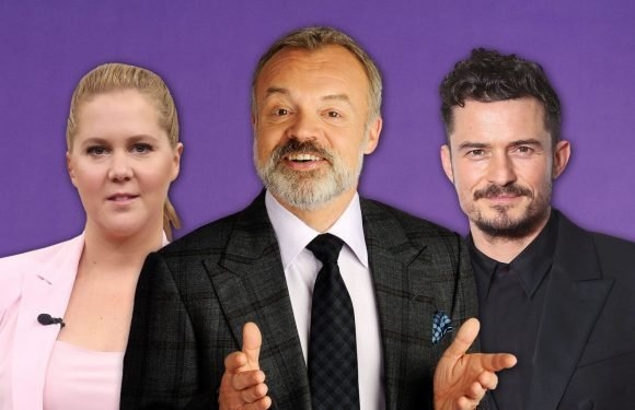 The Graham Norton Show lines up Orlando Bloom, Amy Schumer and more
