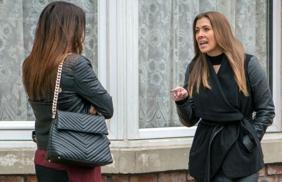 Coronation Street's Carla Connor is rejected by Michelle as her sex secret with Ali Neeson is exposed