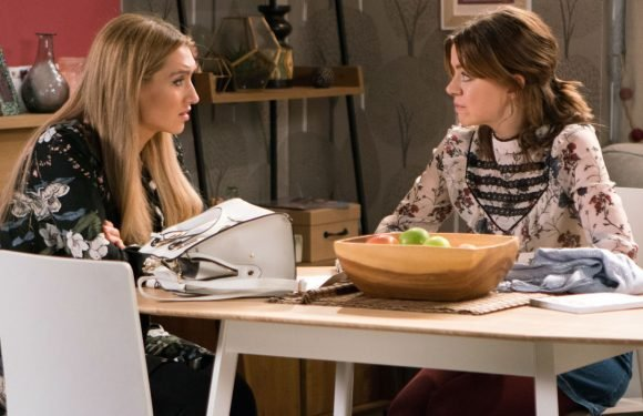 Coronation Street's Eva Price considers keeping her baby and telling Aidan Connor everything