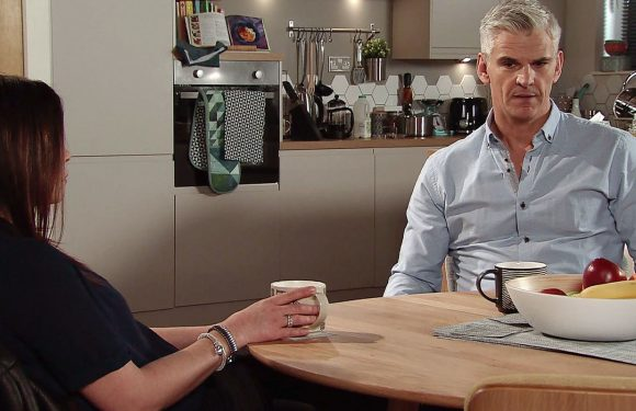 Coronation Street's Carla Connor confronts Robert Preston over a big secret next week