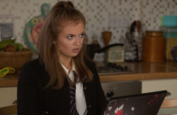 EastEnders exit fears for Tiffany Butcher after she makes a big mistake