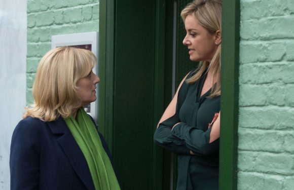EastEnders shock for Michelle Fowler as she's accused of kissing Hunter Owen