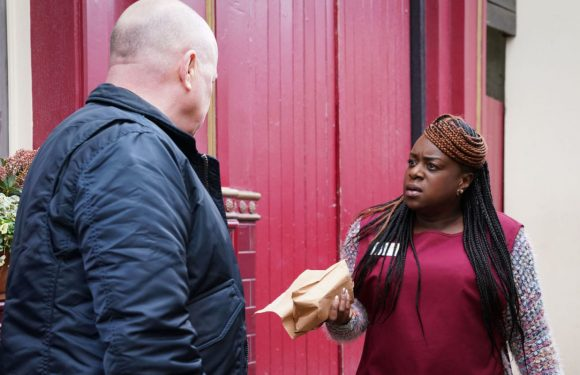 EastEnders' Kim Fox grows suspicious of Phil in the aftermath of Vincent's exit