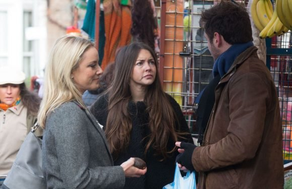 EastEnders' Stacey Fowler is furious when she fears Martin is moving on