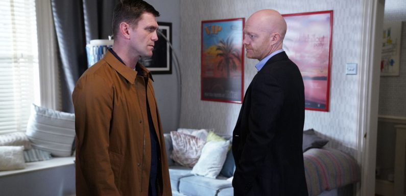 EastEnders' Max Branning drops a huge bombshell when he returns next week