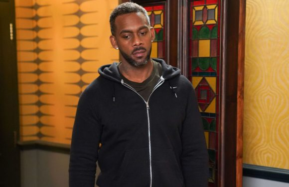 EastEnders star Richard Blackwood reacts to Vincent Hubbard's shock exit