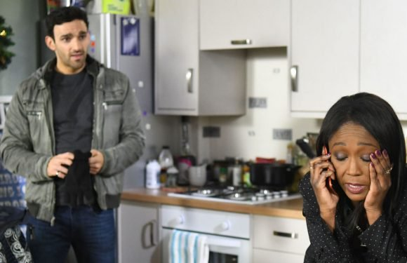 EastEnders' Kush Kazemi drops a bombshell on Denise after returning to Walford