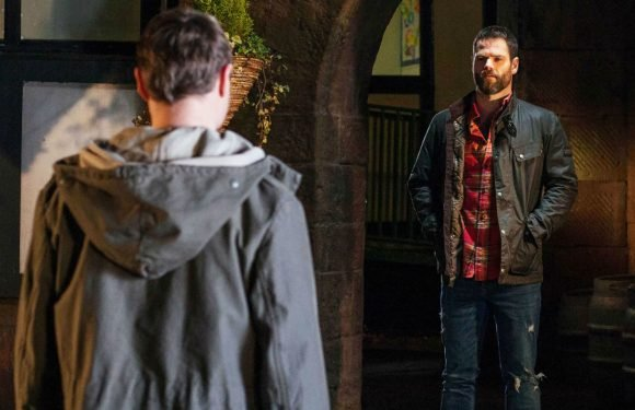 Hollyoaks introduces Milo Entwistle's brother Theo tonight as he gets mystery phone call