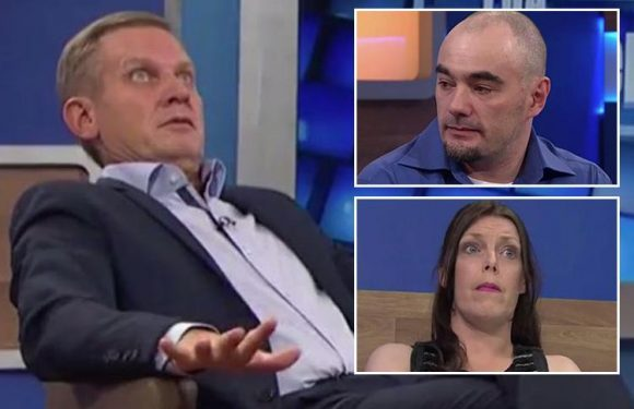 Jeremy Kyle mocks guest for buying his own £70 lie detector test to expose 'cheating' girlfriend after she turned into a saucy minx in the bedroom