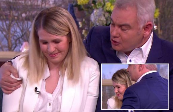 This Morning viewers moved to tears as Eamonn Holmes hugs woman whose pregnancy hid the fact she is dying of cancer