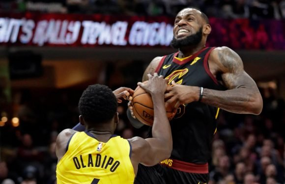 LeBron James gets smoked in Game 1 stunner