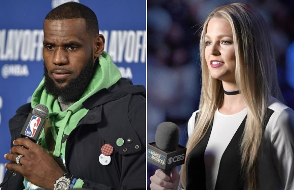 Allie LaForce questioned for asking LeBron about Popovich's wife