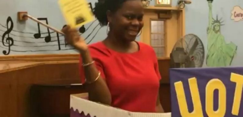 Principal suspends teacher's aide for 'inappropriate' yawn