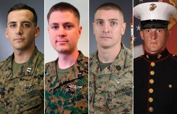 Marines killed in helicopter crash include new dad, Iraq vet