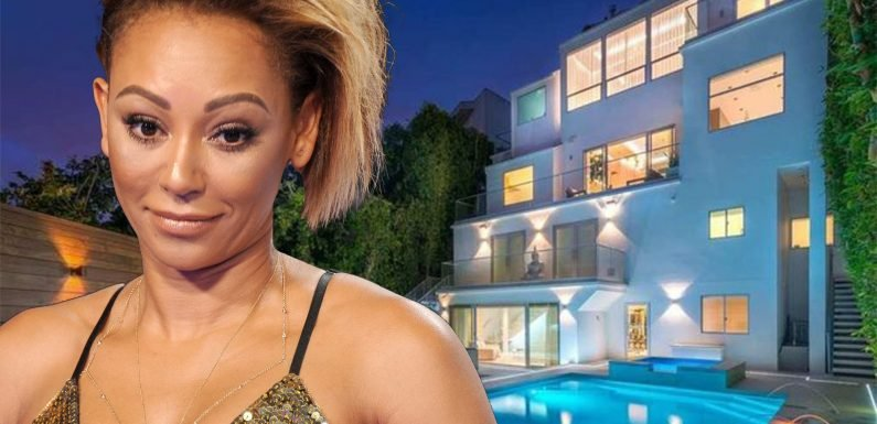 Mel B cuts price of Los Angeles home to $7.5M