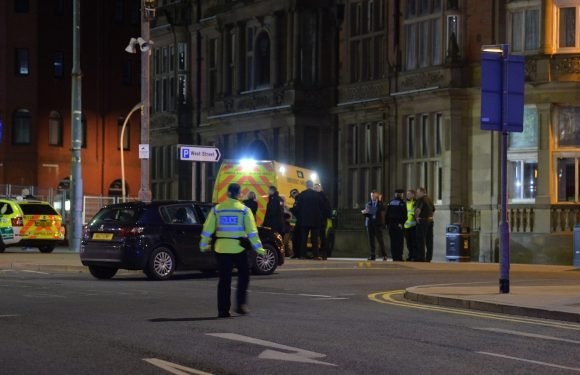 At least three injured after car ploughs into revellers in Blackpool as city is placed on lockdown