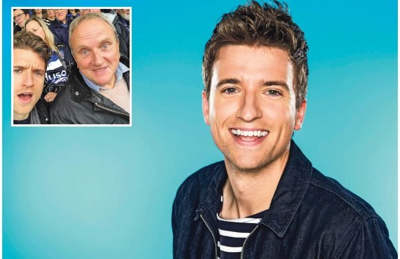 Greg James: 'My dad tells me not to sweat the small stuff'