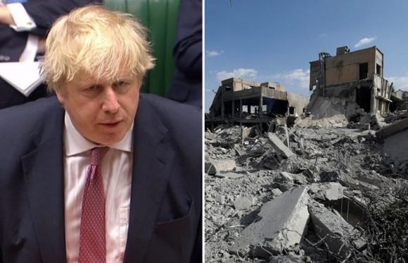 Boris Johnson defends 'standing up for civilised values' with Syria airstrikes but admits they may not end 'barbaric' gas attacks