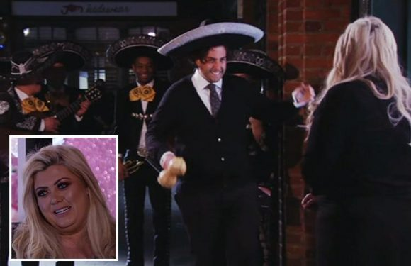 Towie fans go wild as James Argent finally asks Gemma Collins to be his girlfriend after asking her mum's permission