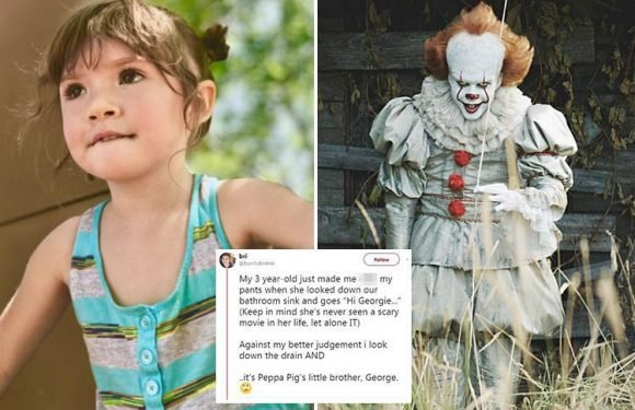 Girl, 3, leaves her mum terrified after saying 'hi Georgie' to what's hiding down bathroom plughole
