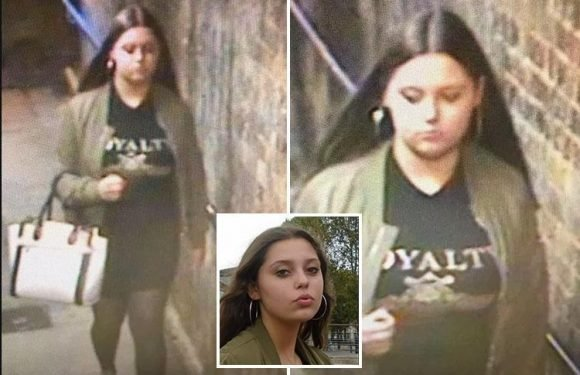 Cops release CCTV of missing schoolgirl Suellen Crawt, 14, who vanished after boarding London train