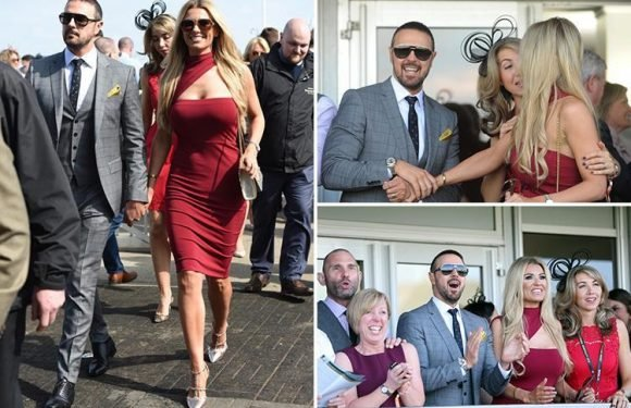Paddy McGuinness and wife Christine put on a loved up display at Aintree after marriage crisis