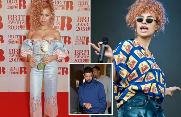 Drake dating Brit singer Raye after striking up a romance in the recording studio