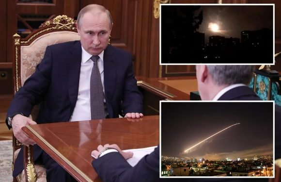 Vladimir Putin calls Syria bombing raids 'act of aggression' as Russia warns of 'consequences' over air strikes