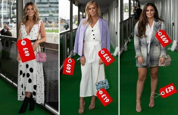Here's what the Towie girls wore at Aintree Ladies Day… and where YOU can buy it