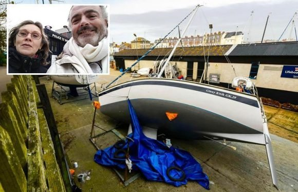 First picture of company director crushed to death by own 29ft YACHT as partner pays tribute to 'best friend'