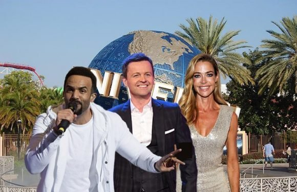 Dec will be joined by Hollywood star Denise Richards and chart-topper Craig David in Saturday Night Takeaway's spectacular final episode – The Sun