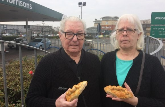 Couple furious after Morrisons refuse to sell them MEAT PIES before 9am