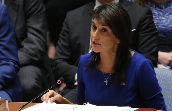 Haley says chemical attack could happen in US 'if we're not smart'